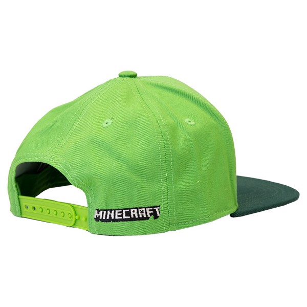 Minecraft - Creeper Green Snapback Cap - Packshot 2