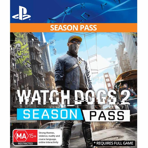 Watch_Dogs® 2 - Season Pass (Game Add-On) - Packshot 1