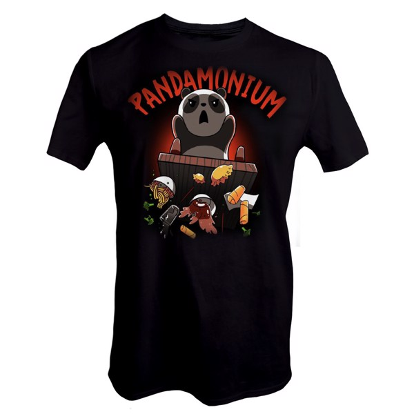 Pandamonium T-Shirt - Packshot 1