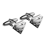 DC Comics - Superman Cufflinks - Packshot 1