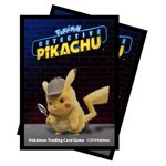 Pokemon - Detective Pikachu - TCG - Pikachu 65-Count Ultra Pro Deck Protector Sleeves - Packshot 1