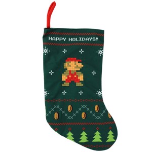 Nintendo - Super Mario Retro Stocking - Things For Home