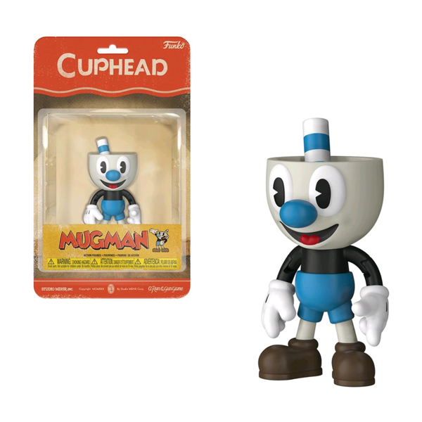 Cuphead - Mugman Action Figure - Packshot 1