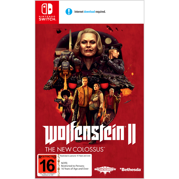 Wolfenstein II: The New Colossus - Packshot 1