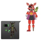 Five Nights at Freddy's Pizza Simulator - Rockstar Foxy Glow Action Figure - Packshot 1