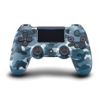 New PlayStation 4 DualShock 4 Wireless Controller - Blue Camo - Packshot 1