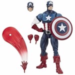 "Marvel - Marvel Legends 80th Anniversary Captain America 6"" Action Figure - Packshot 1"