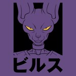 Dragon Ball Z - Beerus Silhouette T-Shirt - L - Packshot 2