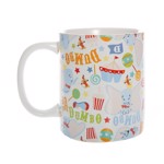 Disney - Dumbo Pattern White Mug - Packshot 3