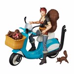 "Marvel - Squirrel Girl  6"" Marvel Legends Action Figure & Vehicle Set Riders Series - Packshot 1"