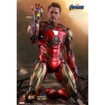 "Marvel - Avengers 4: Endgame - Iron Man Mark LXXXV Diecast 1:6 Scale 12"" Action Figure - Packshot 3"
