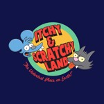 The Simpsons - Itchy and Scratchy T-Shirt - L - Packshot 2
