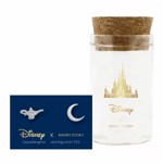 Disney - Aladdin - Lamp & Moon Short Story Silver Stud Earrings - Packshot 1