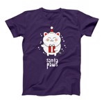 Santa Paws Purple T-Shirt - Female - Packshot 1