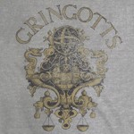 Harry Potter - Gringotts Emblem T-Shirt - Packshot 2