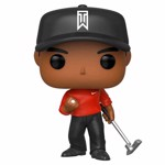 Golf - Tiger Woods Red Shirt Pop! Vinyl Figure - Packshot 1