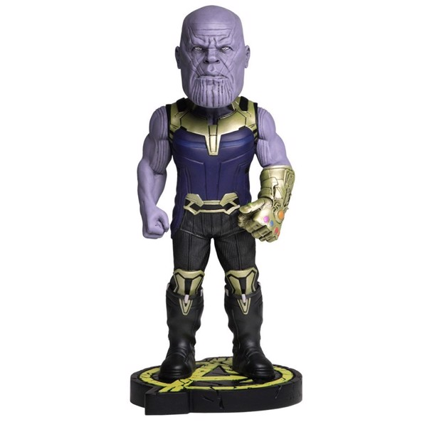 Marvel - Avengers Infinity War Thanos Head Knocker Figure - Packshot 1