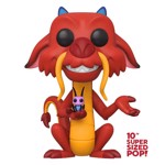 "Disney - Mulan - Mushu 10"" Pop! Vinyl Figure - Packshot 1"