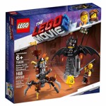 The LEGO Movie 2 - LEGO Battle-Ready Batman™ and MetalBeard Construction Set - Packshot 5