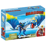 How to Train Your Dragon - Astrid and Stormfly PlayMobil Construction Set - Packshot 3