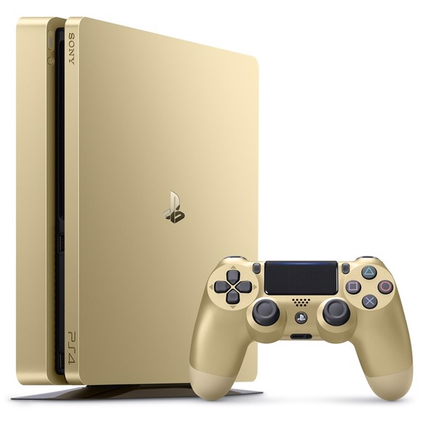 PlayStation 4 500GB Gold Console (Premium Refurbished) - Packshot 1