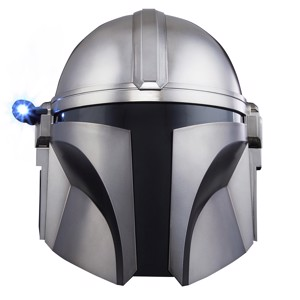 Star Wars - The Black Series The Mandalorian Premium Electronic Helmet - Collectibles