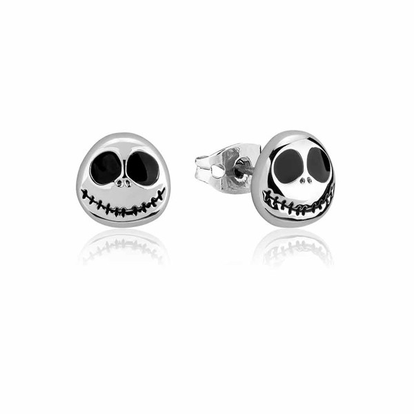 Disney - The Nightmare Before Christmas Jack Face Couture Kingdom Stud Earrings - Packshot 1