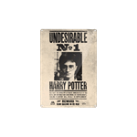 Harry Potter - Undesirable No. 1 Tin Sign - Packshot 1
