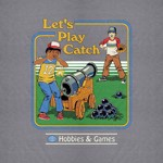 Steven Rhodes - Let's Play Catch T-Shirt - S - Packshot 2