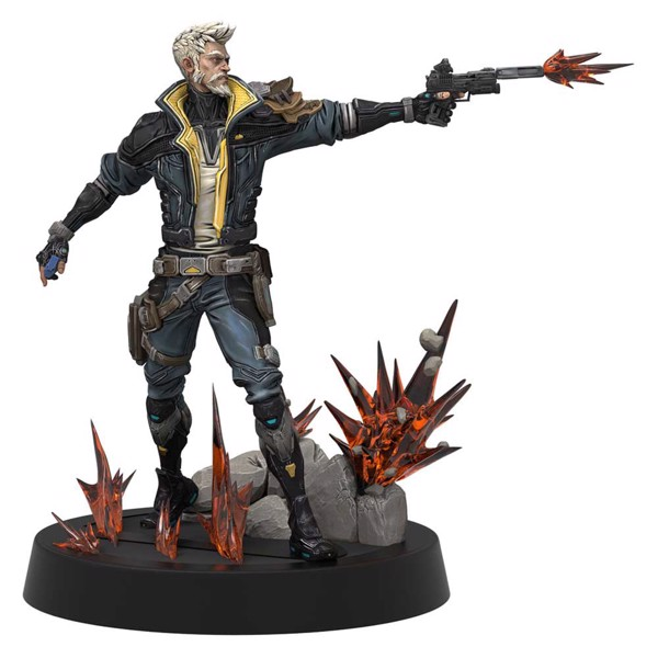 Borderlands 3 - Weta Figures of Fandom - Zane PVC Figure - Packshot 1