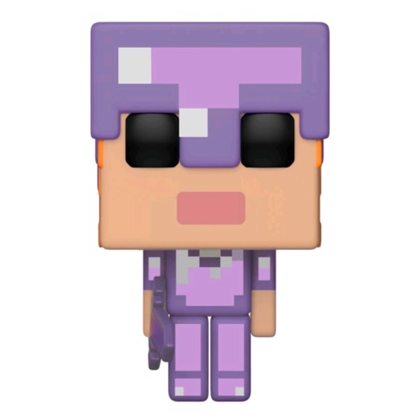 Minecraft - Alex with Enchanted Armour Pop! Vinyl Figure - Packshot 1