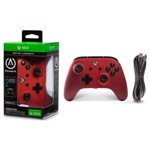 Power A - Xbox One - Enhanced Wired Controller- Crimson Fade - Packshot 2
