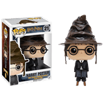 Harry Potter - Harry Potter (with Sorting Hat) Pop! Vinyl Figure - Packshot 1