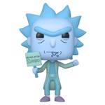Rick and Morty - Hologram Rick (Ignored) Pop! Figure - Packshot 1