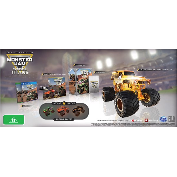 Monster Jam: Steel Titan Collector's Edition - Packshot 2