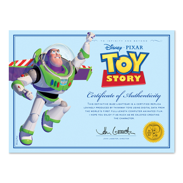 "Disney - Toy Story - Buzz Lightyear 12"" Talking Figure - Packshot 5"