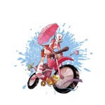 Marvel - Gwenpool Bike T-Shirt - L - Packshot 2
