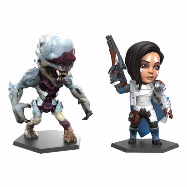"Destiny - Ana Bray & Ice Thrall 4"" Figure 2-Pack - Packshot 1"