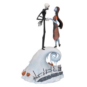 "Nightmare Before Christmas - Jack & Sally Milestones 14"" Statue"