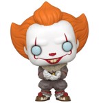 IT Chapter 2 - Pennywise with Glow Bug Pop! Vinyl Figure - Packshot 1