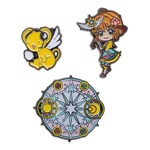 Cardcaptor Sakura - Sakura and Kerberos Lapel Pin 3 Pack - Packshot 1