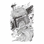 Star Wars - Bounty Art T-Shirt - M - Packshot 2