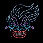 Disney - The Little Mermaid - Ursula Glitter T-Shirt - Packshot 3