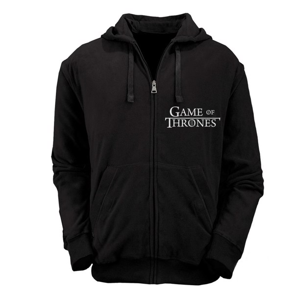 Game of Thrones - Black Logo Hoodie - Size: XL - Packshot 1