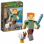 Minecraft - LEGO Alex BigFig with Chicken - Packshot 1