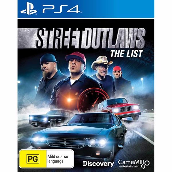 Street Outlaws: The List - Packshot 1