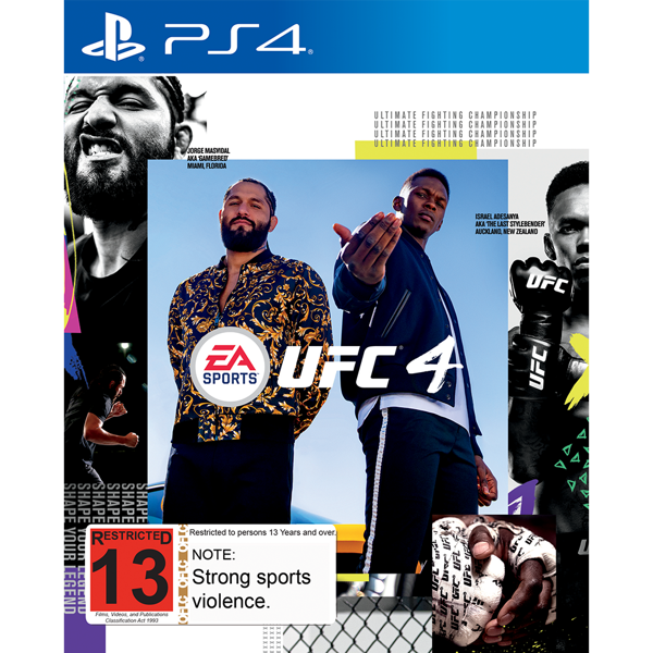 EA Sports UFC 4 - Packshot 1