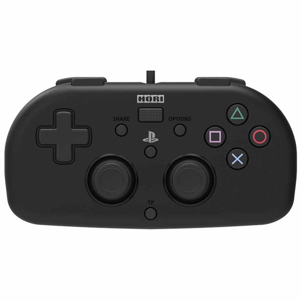 Hori Wired Mini Gamepad for PlayStation 4 - Black - Packshot 1