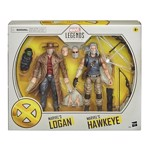 Marvel - X-Men - Marvel Legends Hawkeye and  Logan 2 Pack Action Figures - Packshot 2