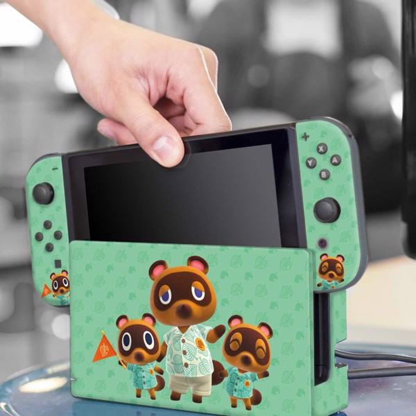Animal Crossing - Controller Gear Tom Nook & Friends Nintendo Switch Decal - Packshot 5